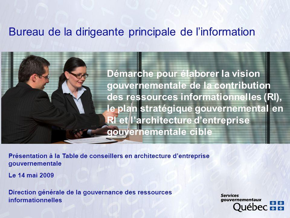 Bureau de la dirigeante principale de l information ppt t l charger - Bureau des contributions ...