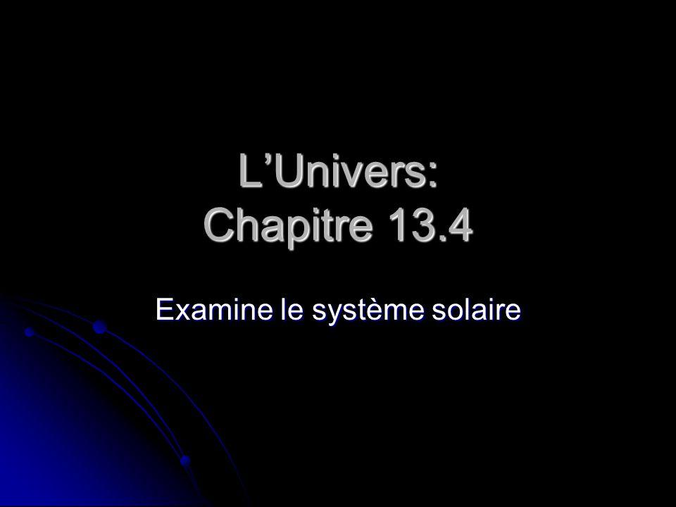 Examine le système solaire