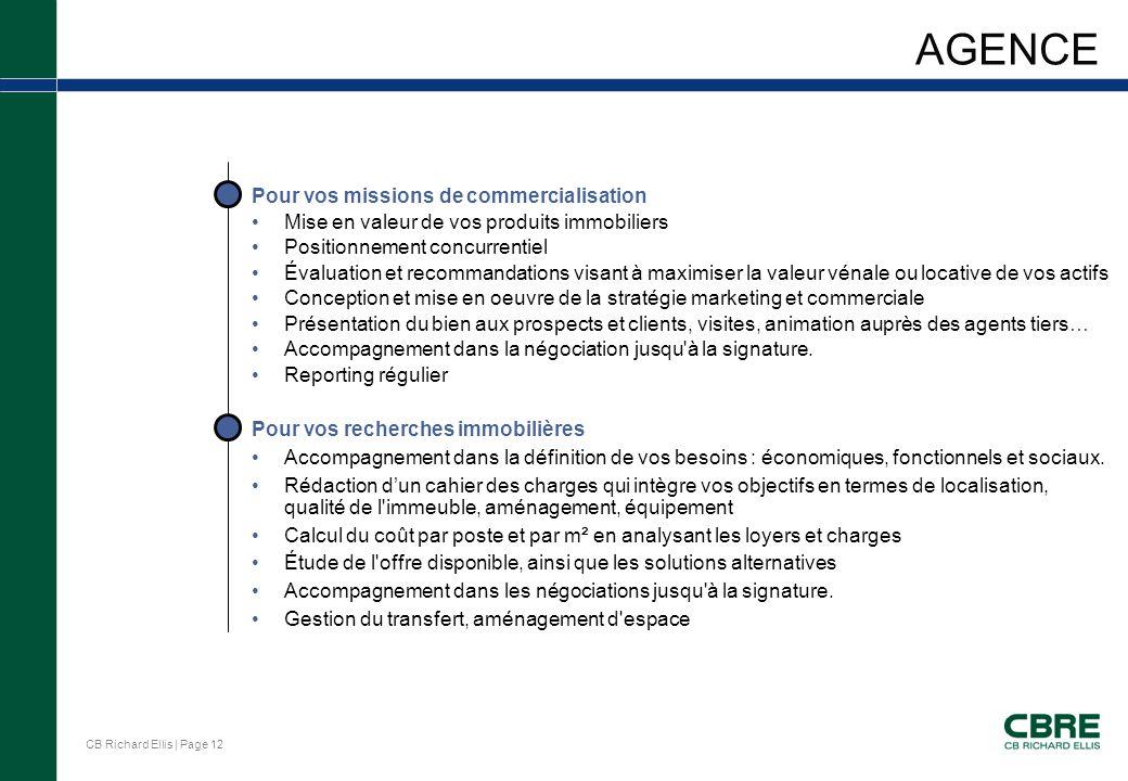 Presentation du groupe cb richard ellis ppt t l charger for Agence immobiliere qui accepte le cpas