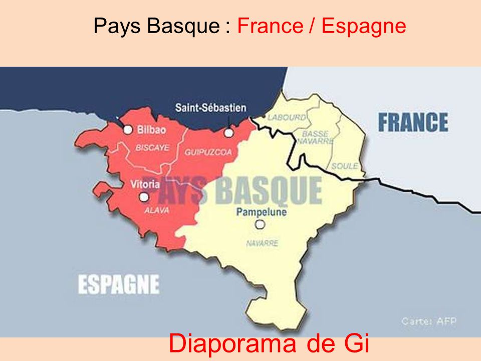 Basque France Map.Pays Basque France Espagne Ppt Video Online Telecharger