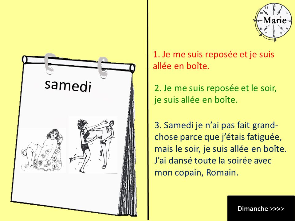 Dimanche >>>>