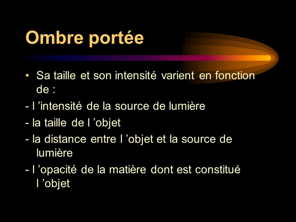 ombre et lumiere donnees theoriques presentation des ateliers ppt t l charger. Black Bedroom Furniture Sets. Home Design Ideas