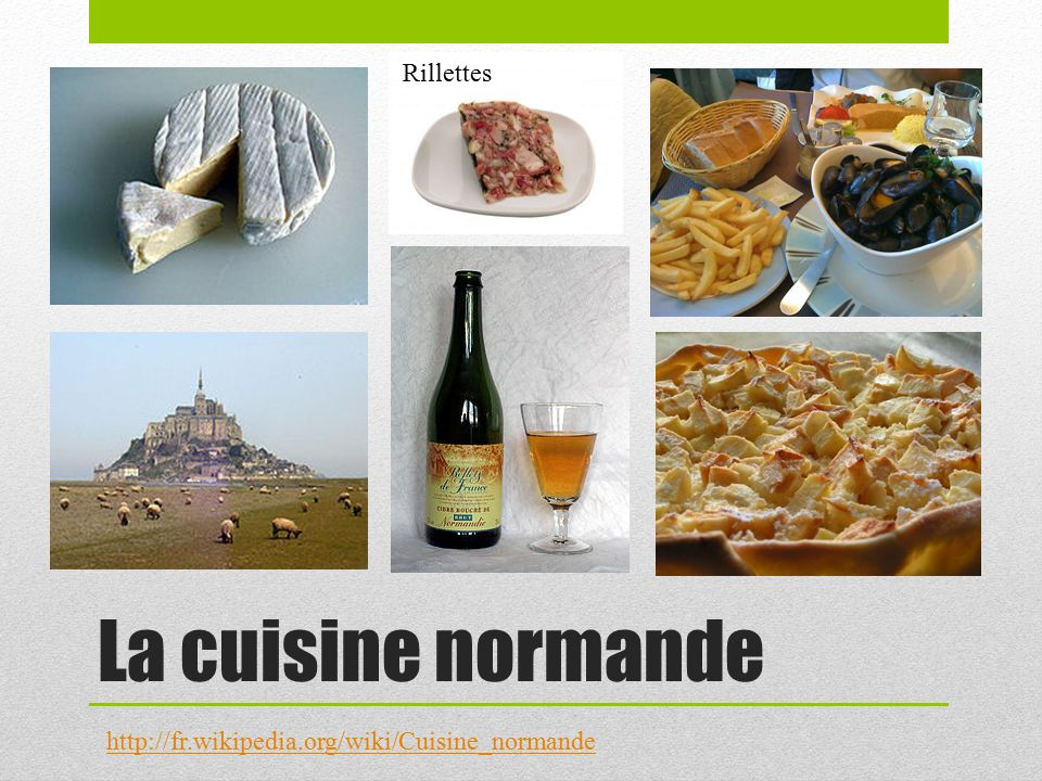 La r gion normandie ppt video online t l charger for Specialite normande cuisine