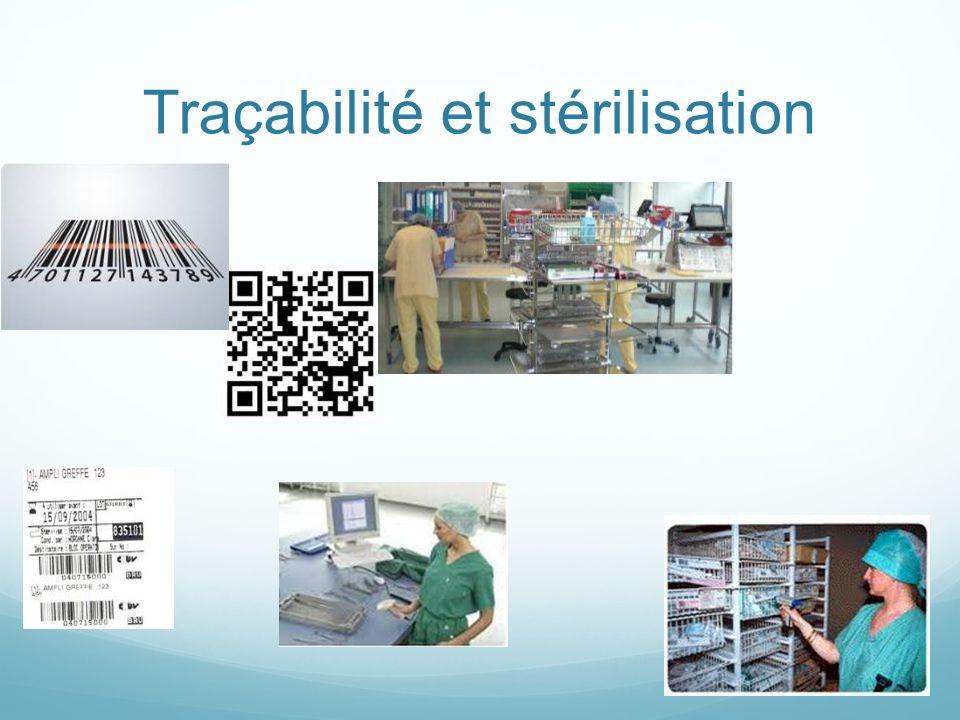 Traçabilité et stérilisation