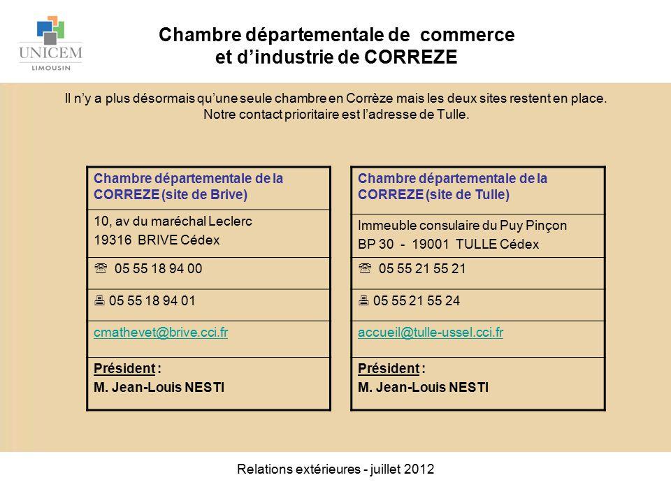 Relations ext rieures juillet ppt video online t l charger - Chambre de commerce bobigny adresse ...