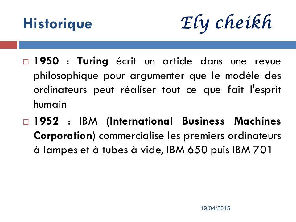 Par ely cheikh g n ralit sur l informatique et l for Architecture definition philosophique