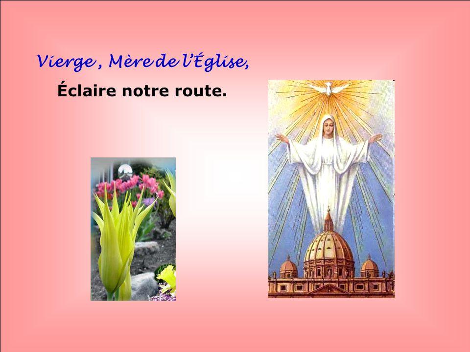 Vierge , Mère de l'Église,