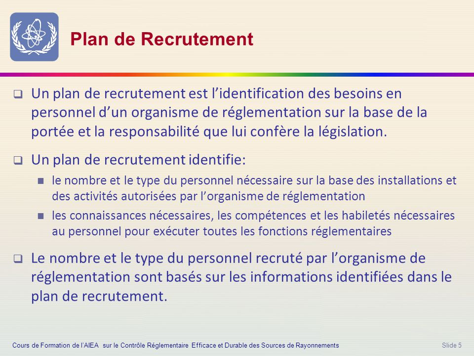 Laboration d un plan de recrutement ppt video online for Les plans de lowe