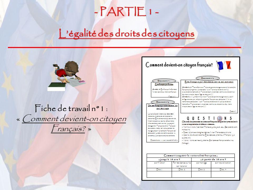 nationalit u00e9  citoyennet u00e9 fran u00e7aise et citoyennet u00e9 europ u00e9enne