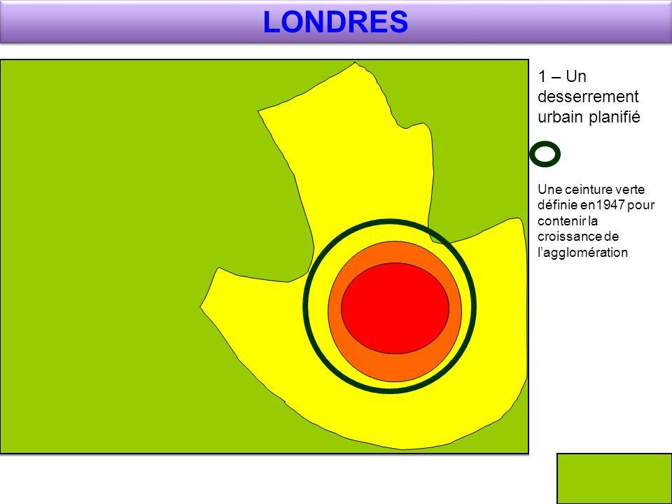 LONDRES 1 – Un desserrement urbain planifié
