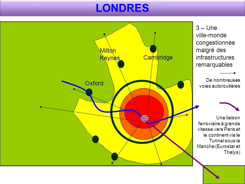 LONDRES 3 – Une ville-monde congestionnée malgré des infrastructures remarquables.