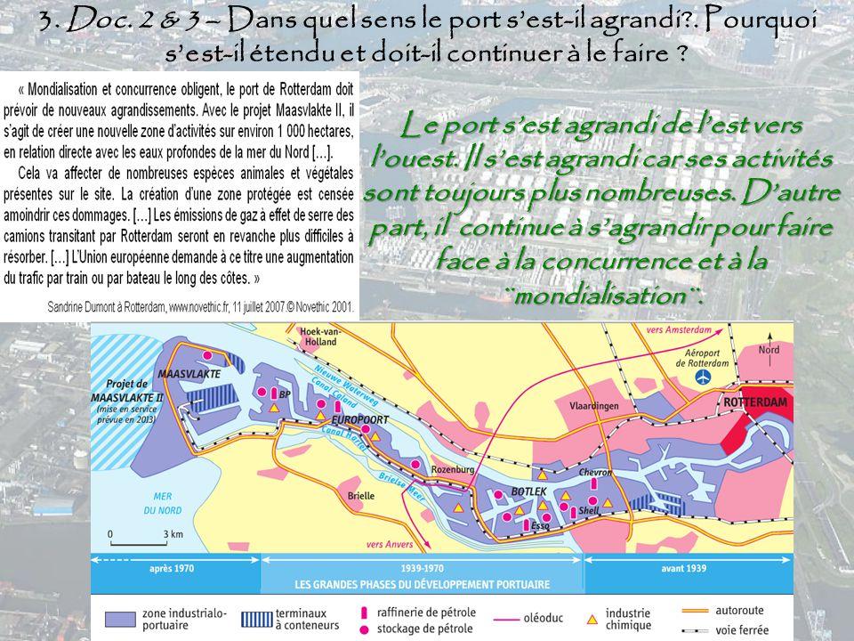 Les espaces majeurs de production et d changes ppt - Quel est le plus grand port d afrique ...