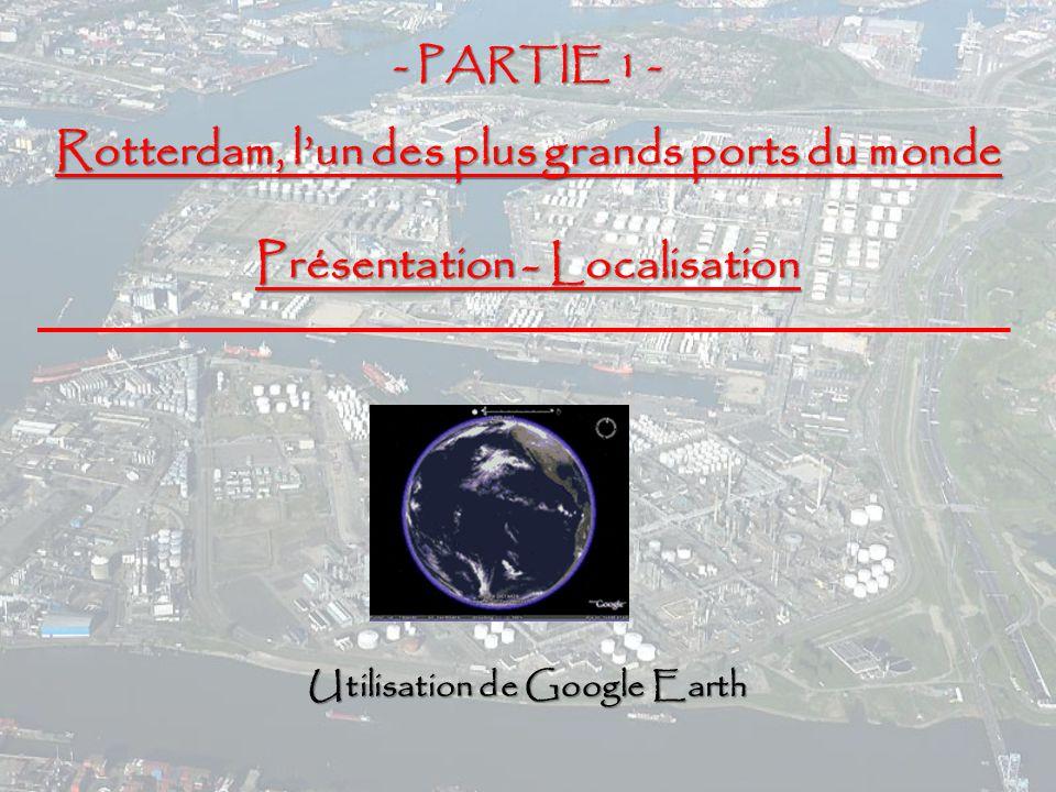 Rotterdam, l'un des plus grands ports du monde