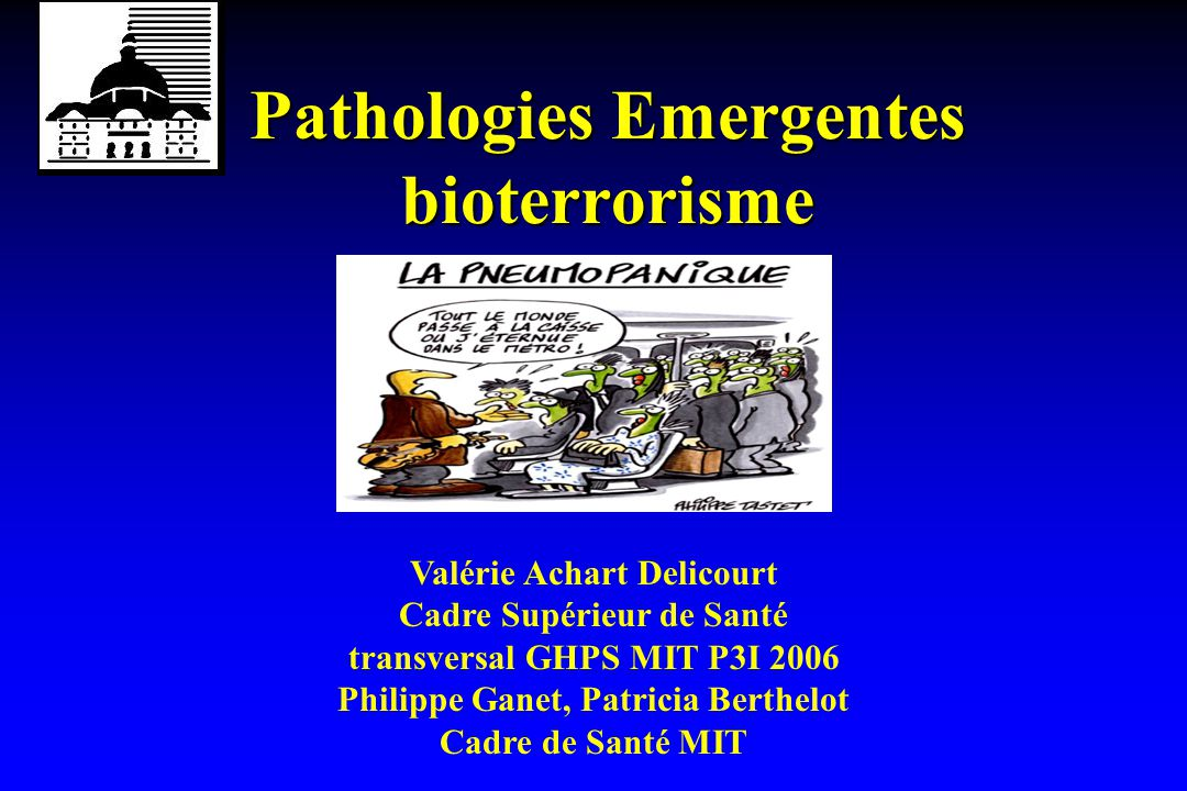 pathologies emergentes bioterrorisme ppt t 233 l 233 charger