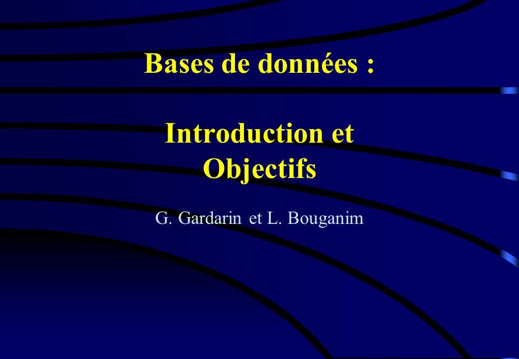 bases de donn u00e9es   introduction et objectifs
