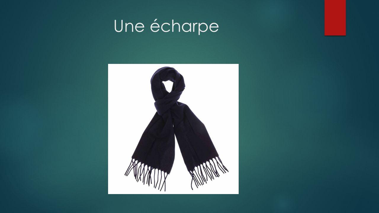 Une écharpe