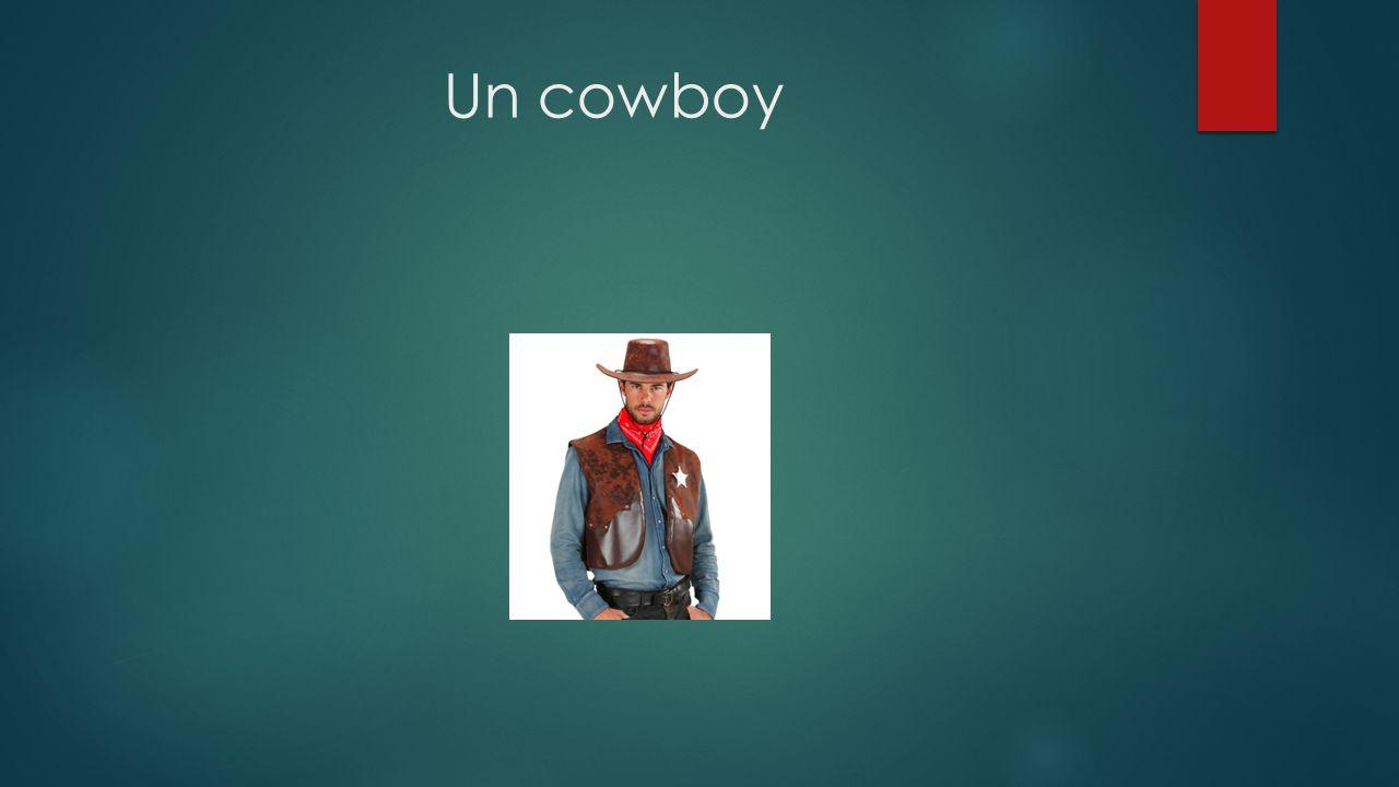 Un cowboy