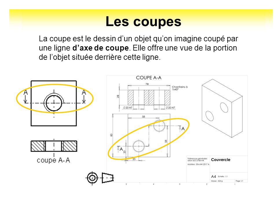 les coupes en dessin technique pdf