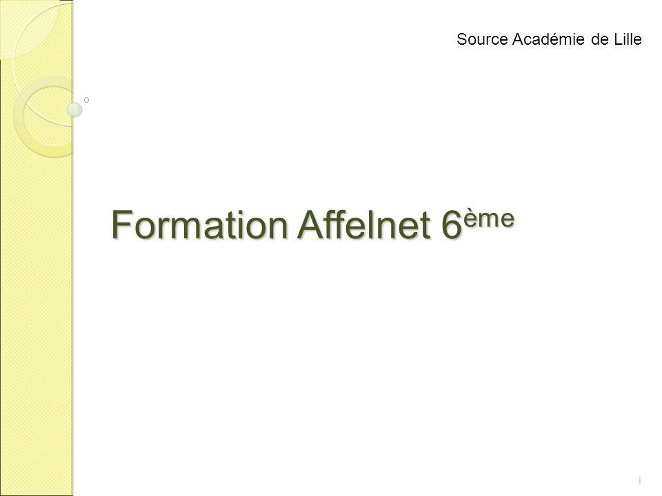 Formation Affelnet 6ème