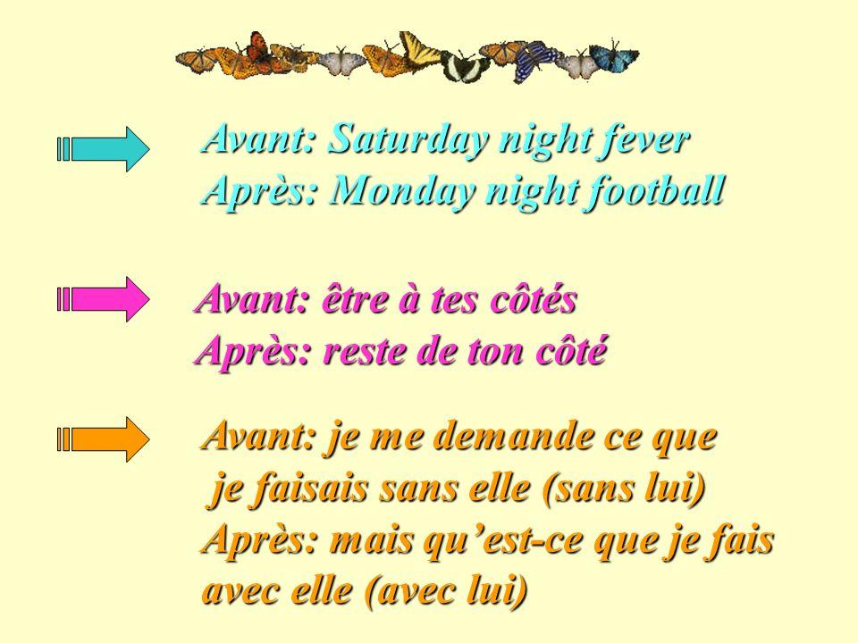 Avant: Saturday night fever