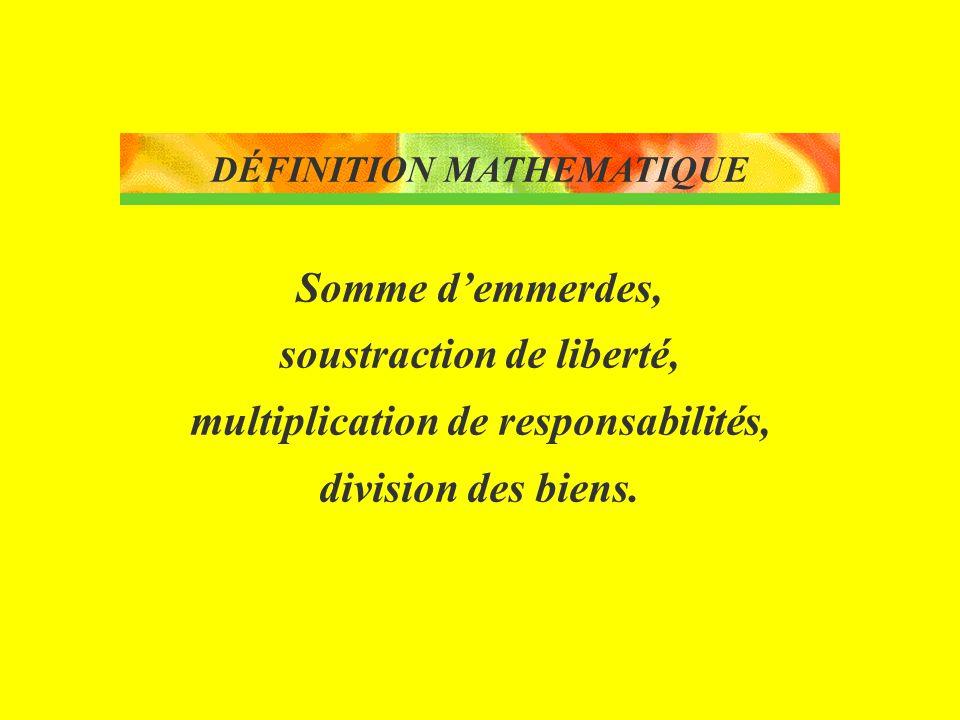 DÉFINITION MATHEMATIQUE