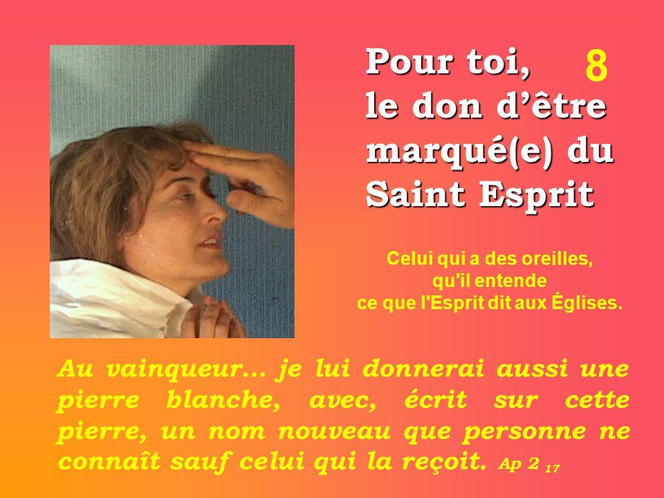 Celui qui a des oreilles, ce que l Esprit dit aux Églises.