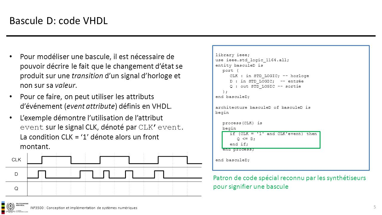 vhdl pour circuits s quentiels ppt t l charger. Black Bedroom Furniture Sets. Home Design Ideas