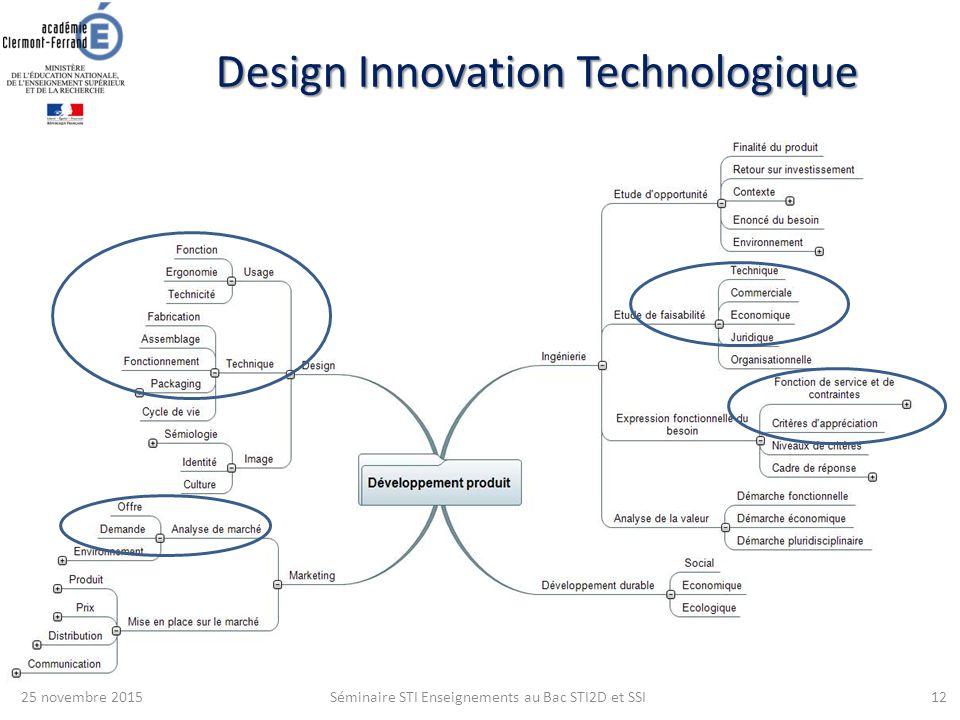 design innovation technologique ppt t l charger