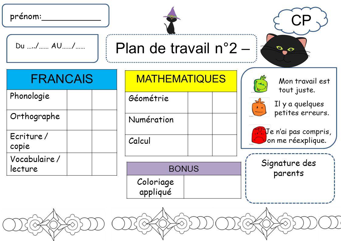 Coloriage Francais Cp.Cp Francais Mathematiques Prenom Bonus Coloriage Applique
