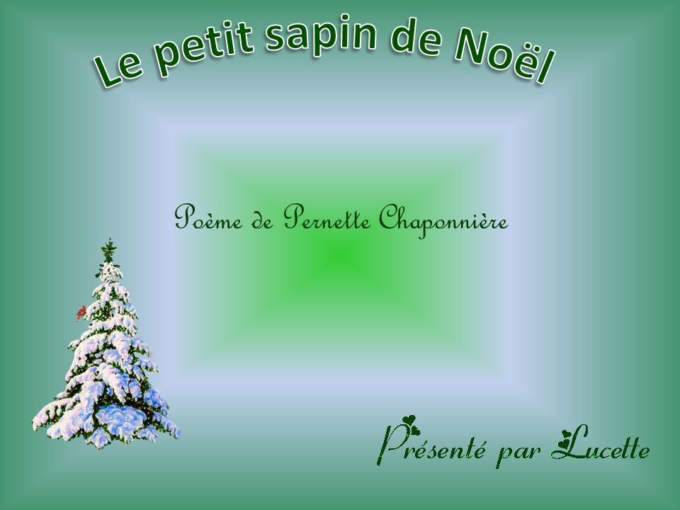 Poème de Pernette Chaponnière