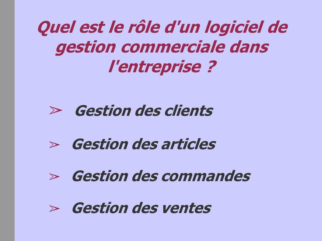 gestion des commandes clients pdf