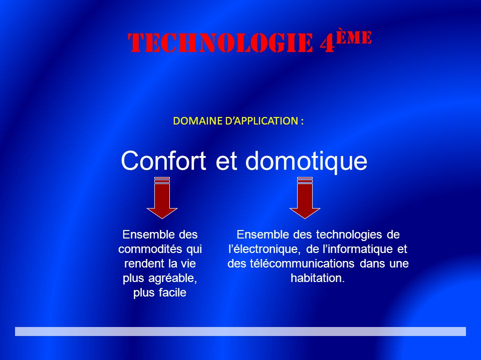 La technologie en 4 me ppt video online t l charger - Objet domotique confort ...