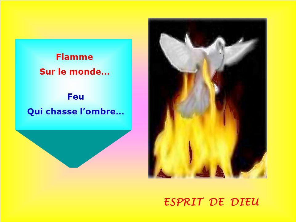 Flamme Sur le monde… Feu Qui chasse l'ombre… ESPRIT DE DIEU