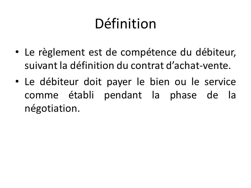 Le r glement paiement ppt t l charger - Vente a terme definition ...
