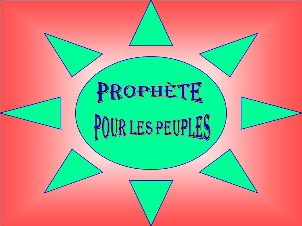 prophète Pour les peuples