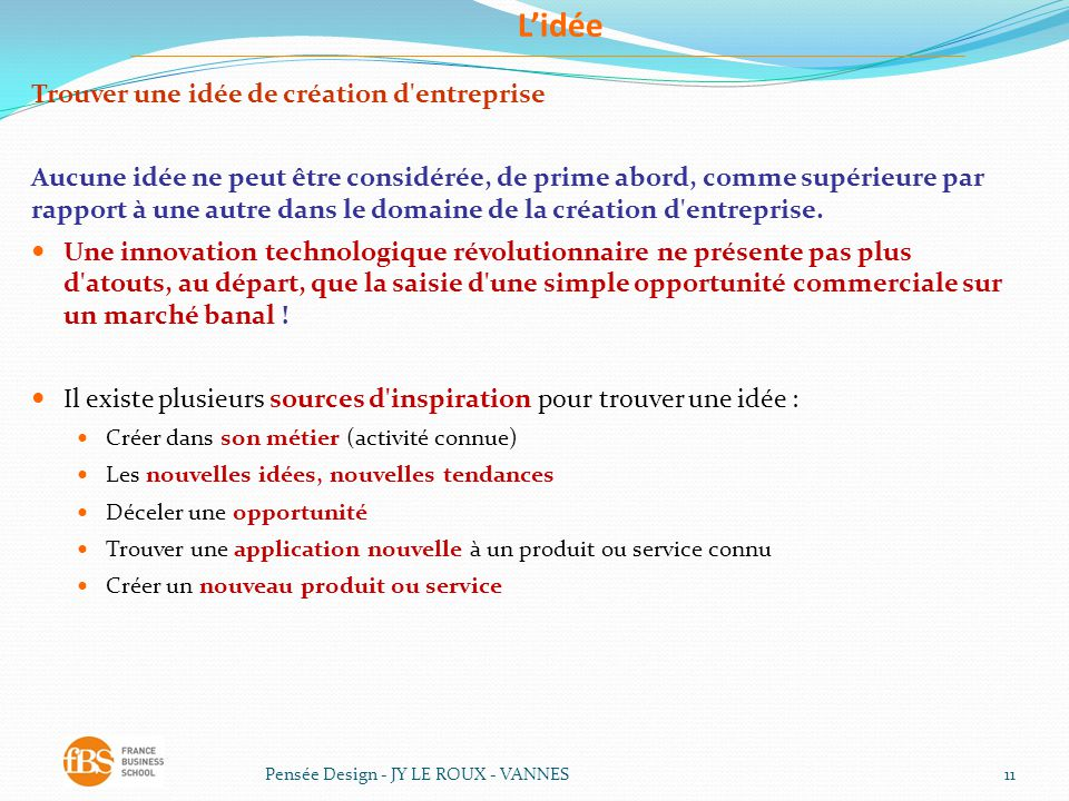 Entrepreneuriat travail de groupe du ppt t l charger for Idee creation entreprise service