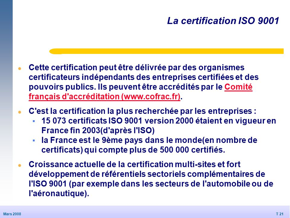 certification iso 9001 version 2000 pdf
