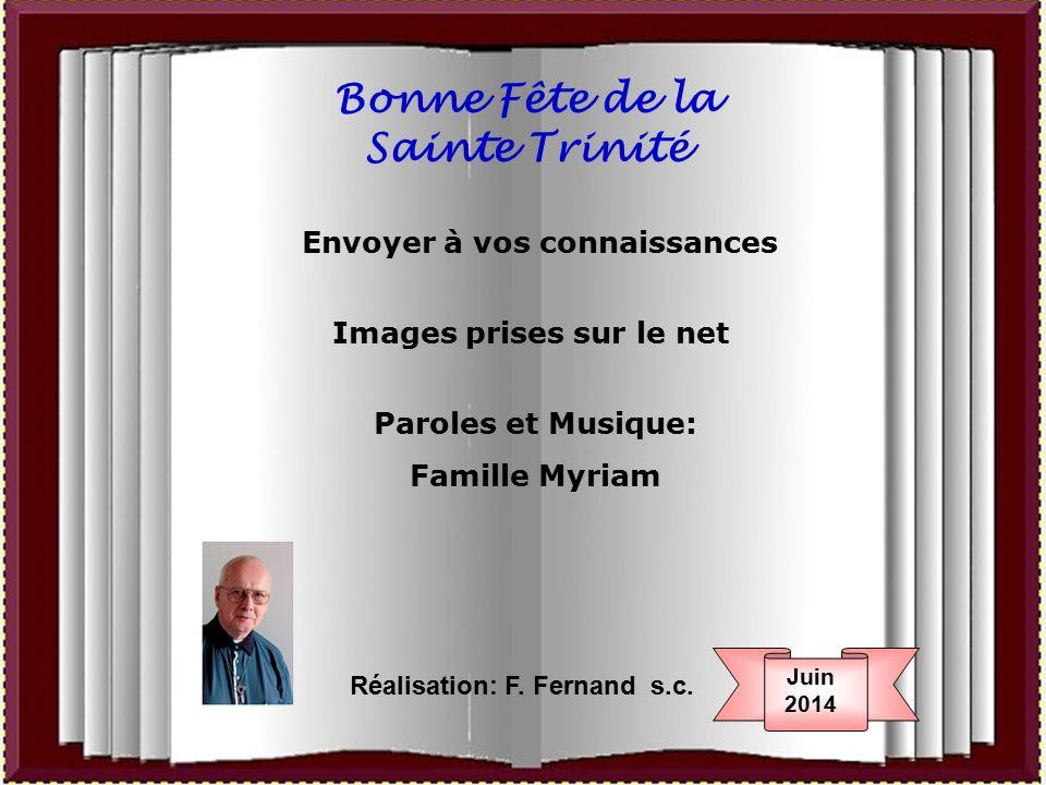 Bonne Fête de la Sainte Trinité