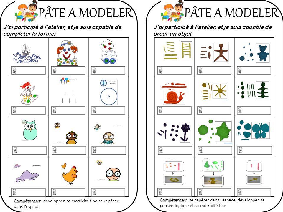 PÂTE A MODELER PÂTE A MODELER