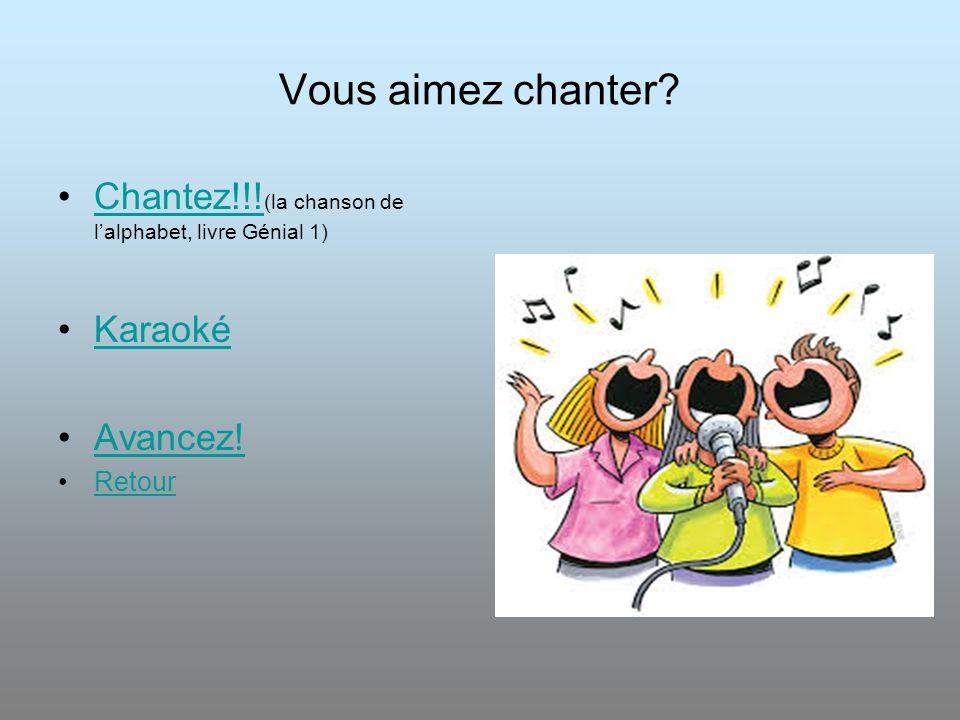 L'alphabet Français La Chanson De L'alphabet Commencez