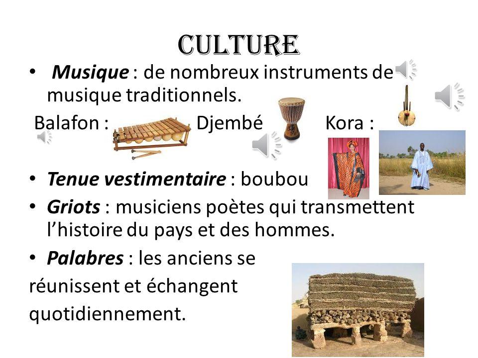 CULTURE Musique : de nombreux instruments de musique traditionnels.