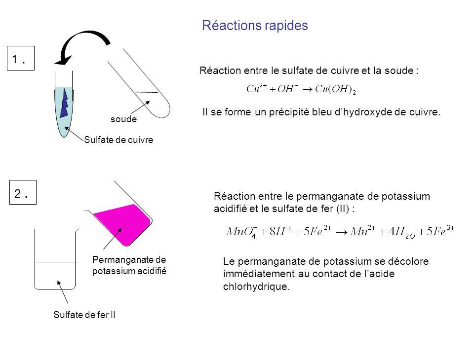R actions rapides 1 r action entre le sulfate de cuivre et la soude il se forme un pr cipit - Sulfate de cuivre dosage piscine ...
