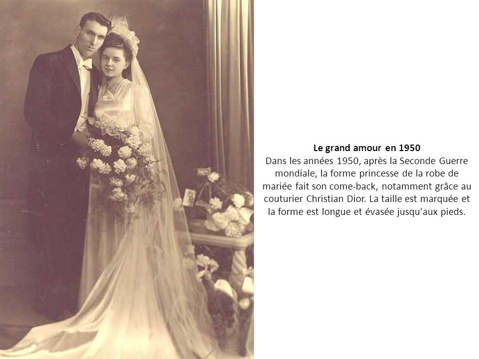 Les plus belles photos de mariage d 39 autrefois ppt video for Plus la taille seconde robes de mariage