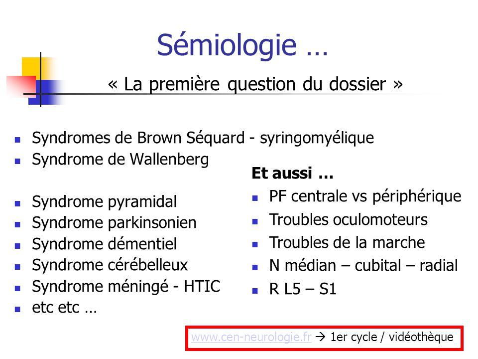 Extrem NEUROLOGIE « Dernier tour » - ppt télécharger BO72