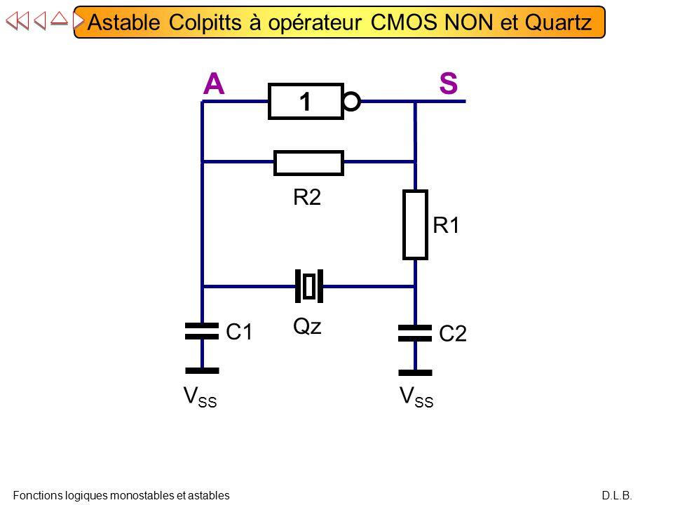 Fonctions logiques monostables et astables ppt video for Logique cmos