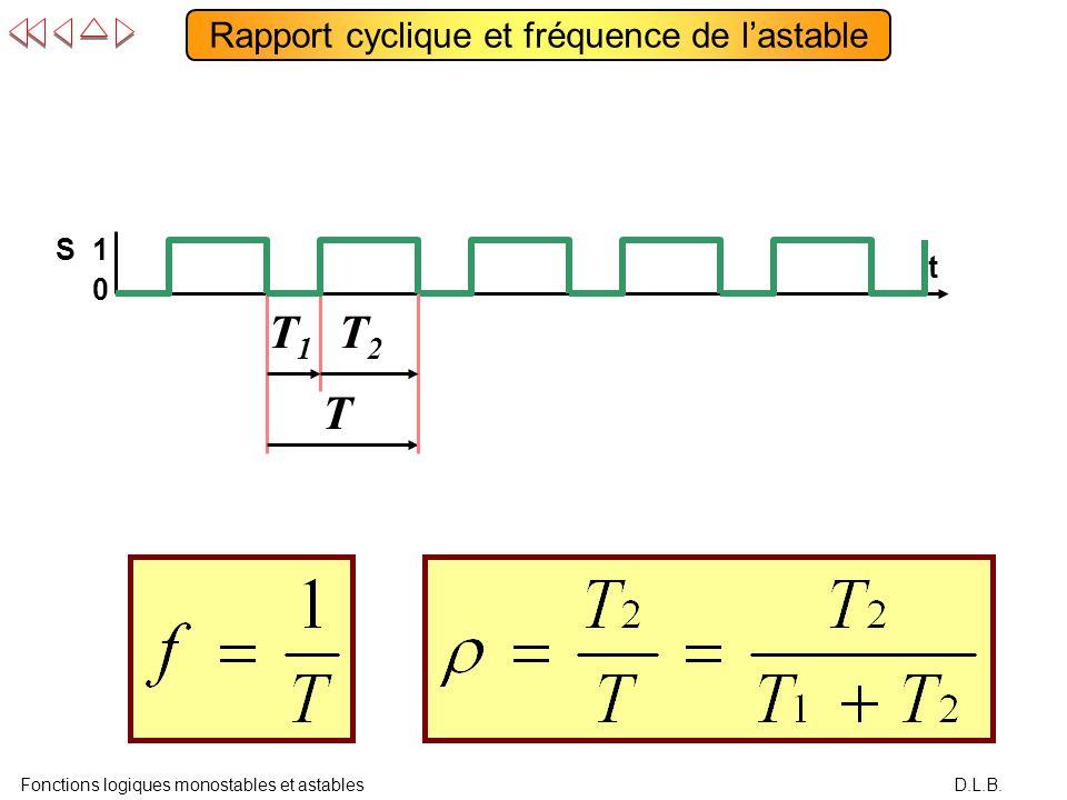 Monostables et astables ppt video online t l charger for Fonctions logiques de base