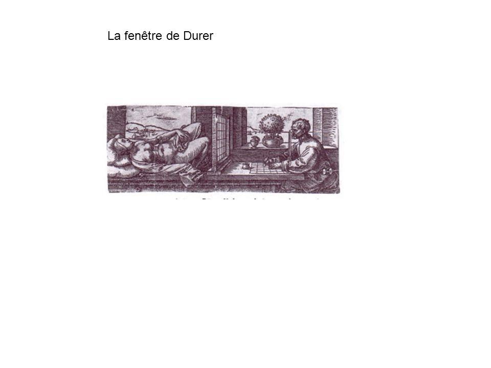 La fenêtre de Durer