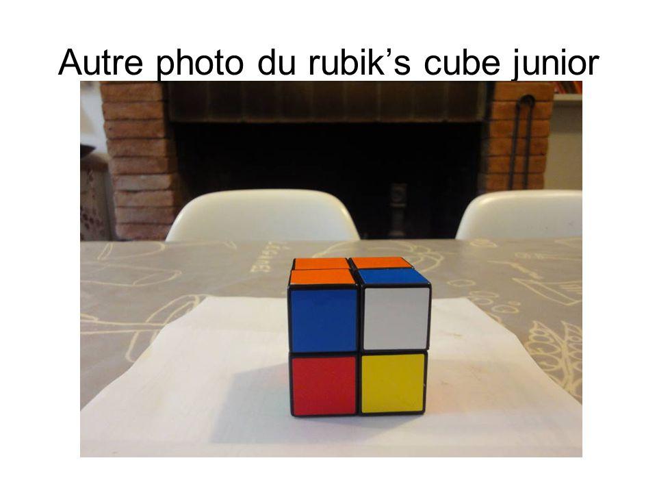 Autre photo du rubik's cube junior