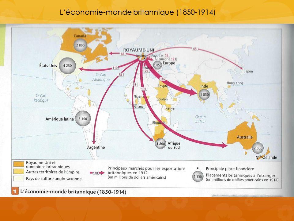 L'économie-monde britannique (1850-1914)