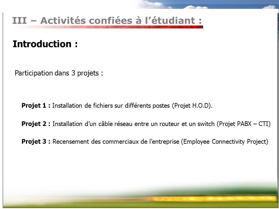 rapport de stage effectu233 au si232ge social de ppt video